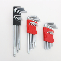 hardware tool,9pc long arm ball point hex key sets