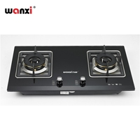 Fashion Attractive Design China Wholesale Gas Stove 3 Burner Tempered Glass
