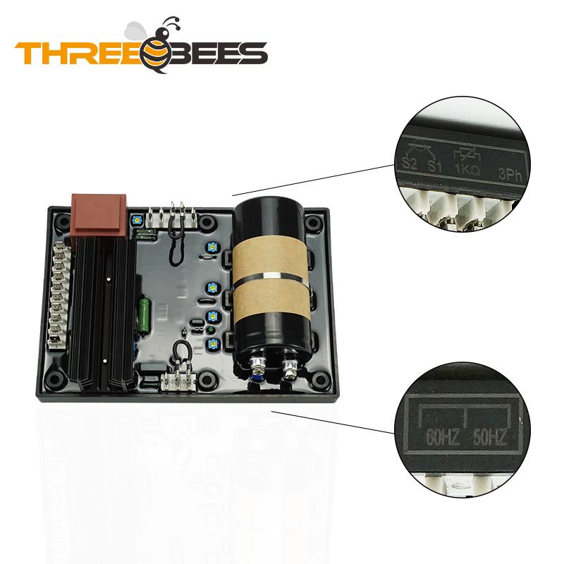 Generator AVR Circuit Diagram 3 Phase AVR R448