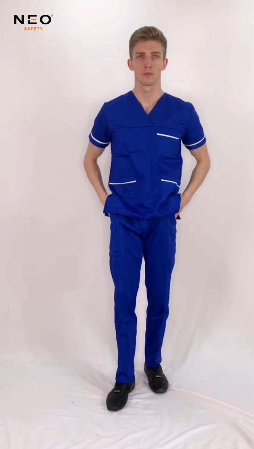 wholesale fashionable nurse uniform designs nurse scrubs uniform