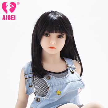 AIBEI 100cm Real Love Flat Breast Small Cute Japanese Girl Mini Sex Doll