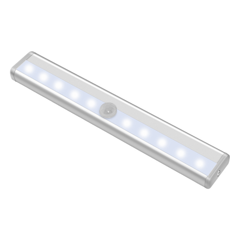 Hot Selling 6 LED Motion Sensor Easy Small Elegant Battery Powered Led Cabinet Light