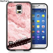 MaiYaCa индивидуальный золотой мраморный мягкий чехол для телефона samsung Galaxy S6 S7 S8 S9 edge S10 Plus Lite Note 5 8 9 чехол(Китай)