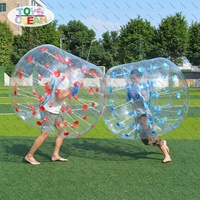 Inflatable Adult Children Body Zorbing Bumper Bubble Ball