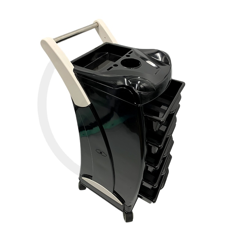 5 Layers Hairdressing Trolley Salon Barber Hair Coloring Rolling Storage Cart Hairdresser Trolley