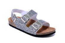 Birkenstock EVA Milano Базальтовые сандалии для отдыха, унисекс, 803 обувь, женские пробковые пляжные женские сандалии, тапочки, 2019(Китай)