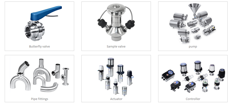 3A multichannel valve manual biopharmaceutical combination diaphragm valve