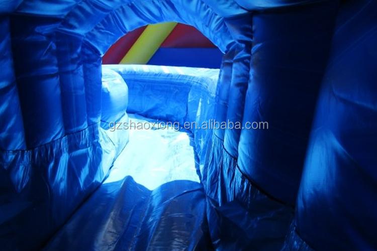Пластиковый Брезент Тобоган, большие дешевые горки для бассейна, надувной прыгающий домик, Воздушная водная горка для взрослых