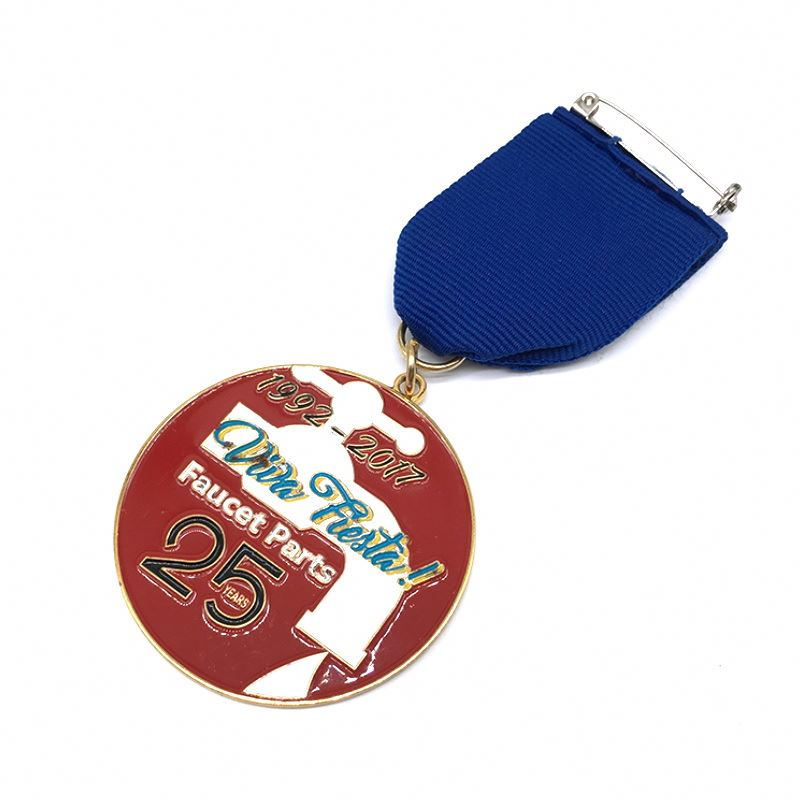 China Factory 5K Running New Catholic Personalized Shaped Medal With Lanyard