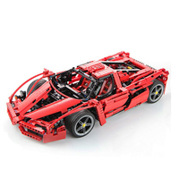 NEW Technic 1359pcs Racers Enzo Super Car 1:10 Scale Sports Car Enzo car Compatible Legoe Model Building Blocks Bricks Kids Toys