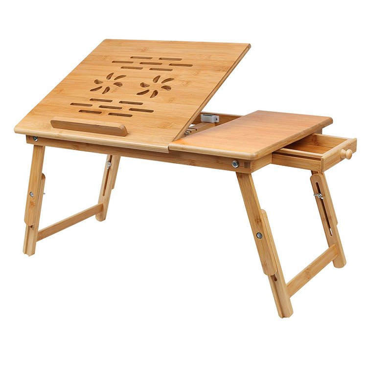 Multifunctional Bamboo Computer Desk Bed Mini <strong>Folding</strong> Portable Sofa <strong>Laptop</strong> <strong>Table</strong> For Floor Sitting