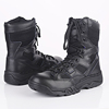 top grade leather waterproof tactical gear 8 inch army ranger boots military