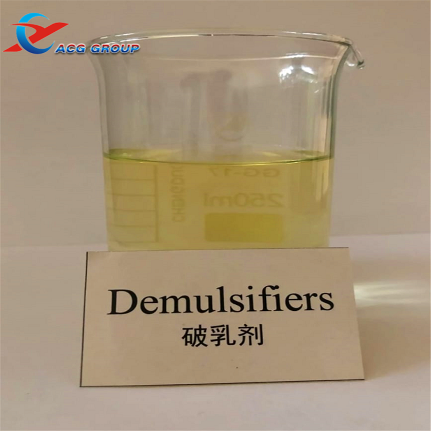 Water Soluble Crude Oil Demulsifier For Industry Water Treatment <strong>Chemicals</strong>