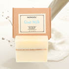 Private Label OEM Natural Organic Skin Deep Moisturizing Whitening Goat Milk Cold Process Essential Oil Handmade Soap