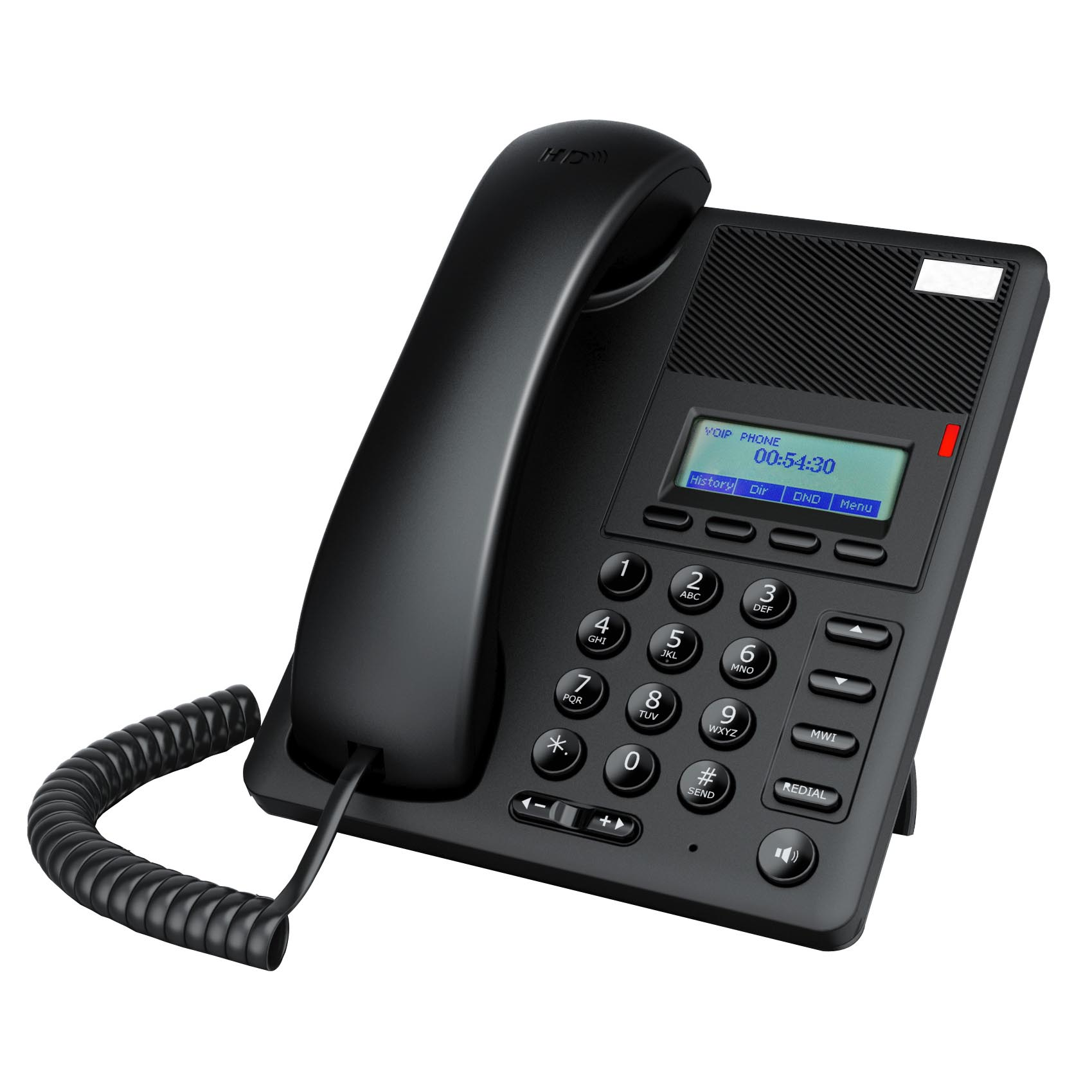 Avaya/Asterisk divalidasi VoIP Telepon POE A21 2 Garis Entry-level bisnis SIP IP Phone Dual core CPU, suara HD, Backlight