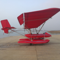 Two Seater Stable Performance Amphibious Ultralight Aircraft A2C200 For Experience Flight
