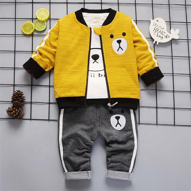 Latest design fashion kids clothes wholesale children's clothing sets baby boys clothes sets