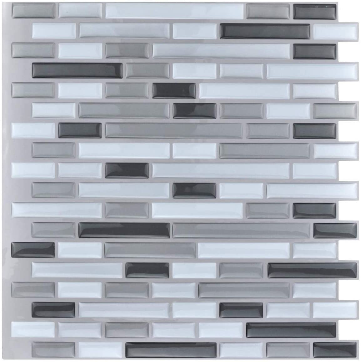 2020 New Product 3d Peel And Stick Tile Sticker Brick Waterproof 3D peelable tiles Wallpaper For Home Decoration