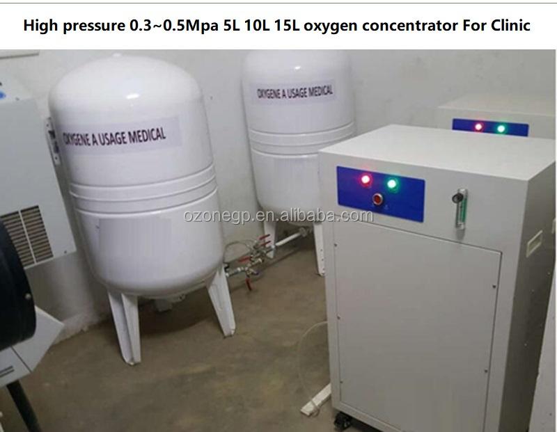 Oxy bộ tập trung 3L, 5L, 8L, 10L