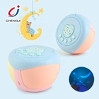 Novelty soothing music baby light projector noise sound machine sleep aid toy