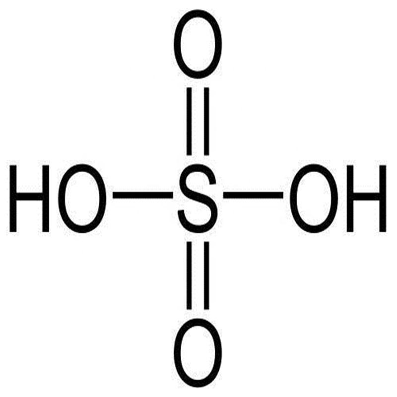 строение серной кислоты картинка снимка черно-белого