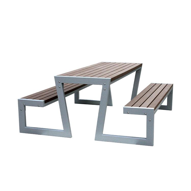 Ao ar livre Mobiliário de jardim bancada Mesa De Piquenique de Madeira conjuntos de sala de jantar de madeira mesa e cadeiras do lado de fora do pátio bistro tabela da cerveja