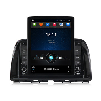 Navifly Tesla style For Mazda Cx-5 cx5 cx 5 2012 2015 Car Radio Multimedia Video Player Navigation GPS Android No 2 din dvd