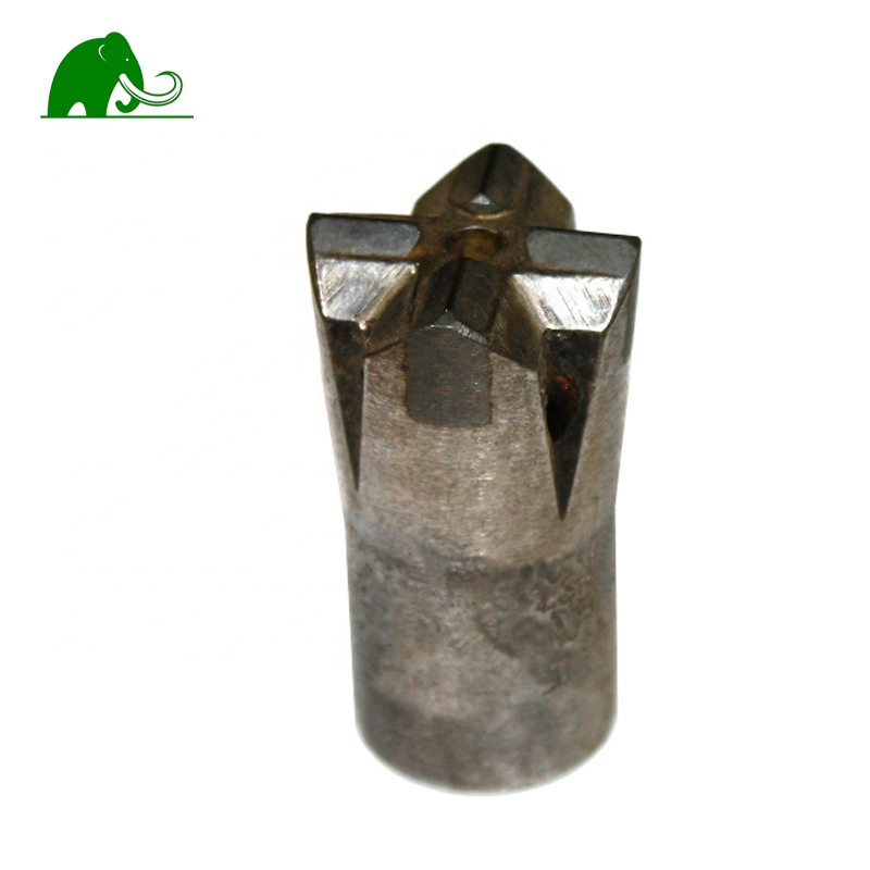 34mm Tapered Cross Rock Drilling for Mining