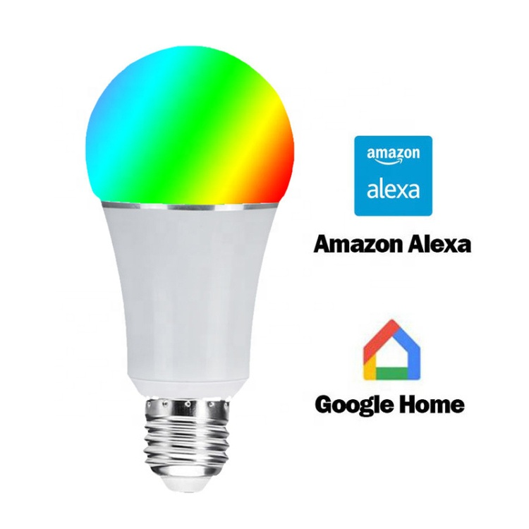 2020 hot sale Wifi E27 E26 <strong>led</strong> Compatible Alexa And Google Assistant <strong>Led</strong> <strong>Smart</strong> Rgb Light <strong>Bulb</strong>