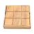 JAYI Wholesale Custom Design High Quality Indoor Board Game Wooden Games Wood Tic Tac Toe