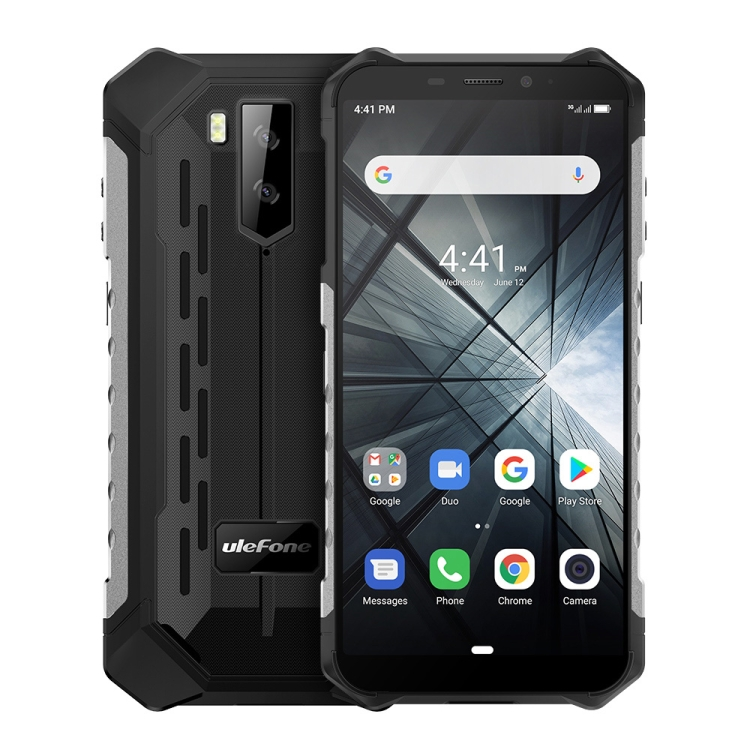 Free sample same day shipping Ulefone Armor X3 Rugged Phone Global version mobile phone IP68 Waterproof cell