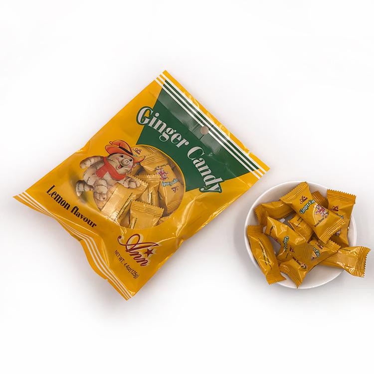High quality good supplier manufacturer taste original flavor sweet ginger hard sugar