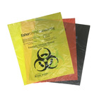 Plastic Medical Trash Bin Liner Bags Biohazard Waste Garbage Bags
