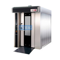 commercial rotary rack oven bread baking machine