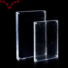 Good Quality Transparent Acrylic Price Sign Advertising Frame Holder