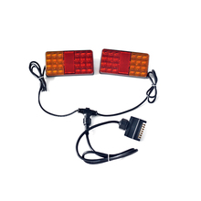 KS18-044 12 V <span class=keywords><strong>LED</strong></span> Lamp Magnetische Trailer/Towing Licht Kit