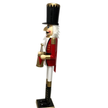 indoor classic stand purely handmade crafts Wooden solider nutcracker