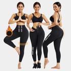 Corset Thicken Plush Butt Lifter Slimming 3 Hooks Corset Waist Trainer Women Leggings Fitness Gym Leggings