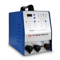 Portable capacitive discharge stud weld bolt machine
