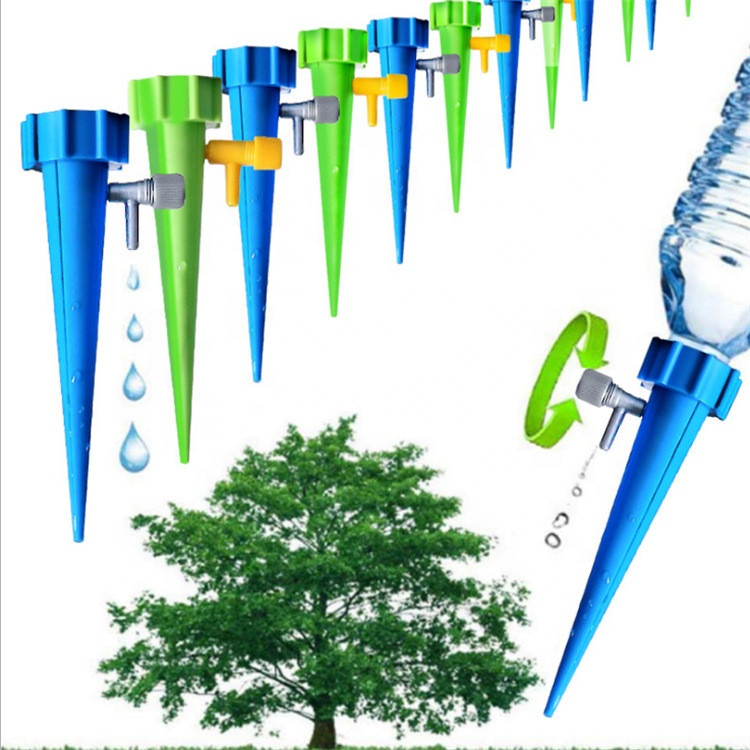 גן DIY אוטומטי בטפטוף מים קוצים להתחדד השקיה צמחים Houseplant ספייק טפטף