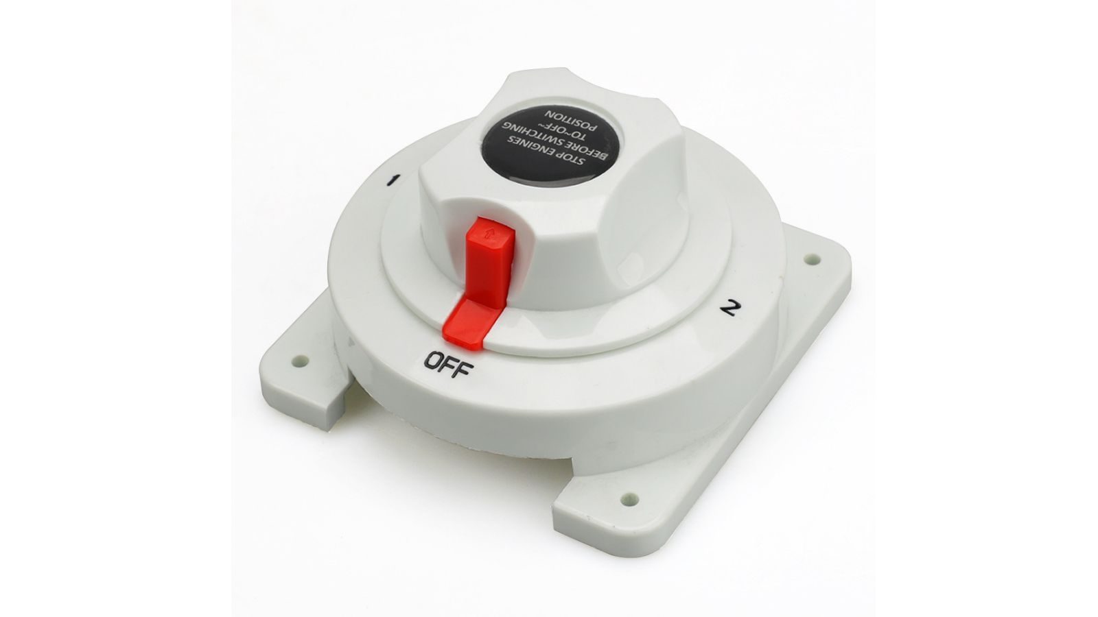 12V 48V Dual Battery Selector Switch Disconnect Power Cut Off On for Marine Boat