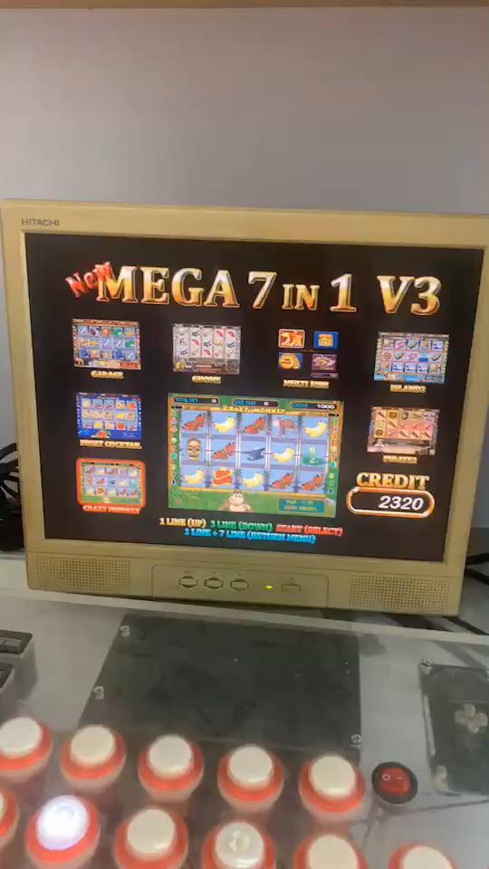 new mega 7 in 1 slot game board Ver.1- Ver.8