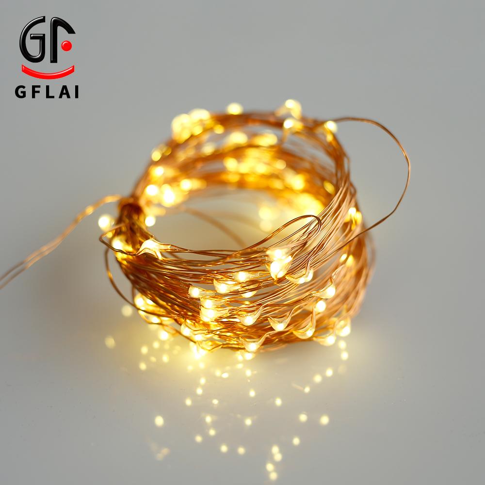 Garland String Lights Light Up Christmas Present Feit String Lights  For Bedroom Decoration