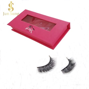 Wholesale Private Label False Eyelashes Boxes Custom Eyelash Packaging