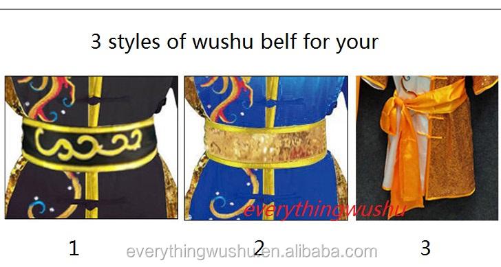 Custom Premium Embroidery Wushu Kungfu Competition Uniform Nanquan Uniforms for Wushu Class and Team