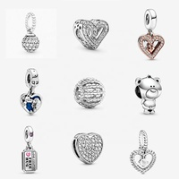 Factory 2020 New Collection New Charms Fit Original Pandoras Bracelet Charms DIY 925 Sterling Silver Jewelry for Women