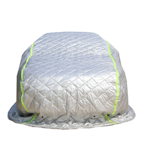 ZS 6 layer Inflatable Hail Proof Extra-thick Car Covers For Car Protection