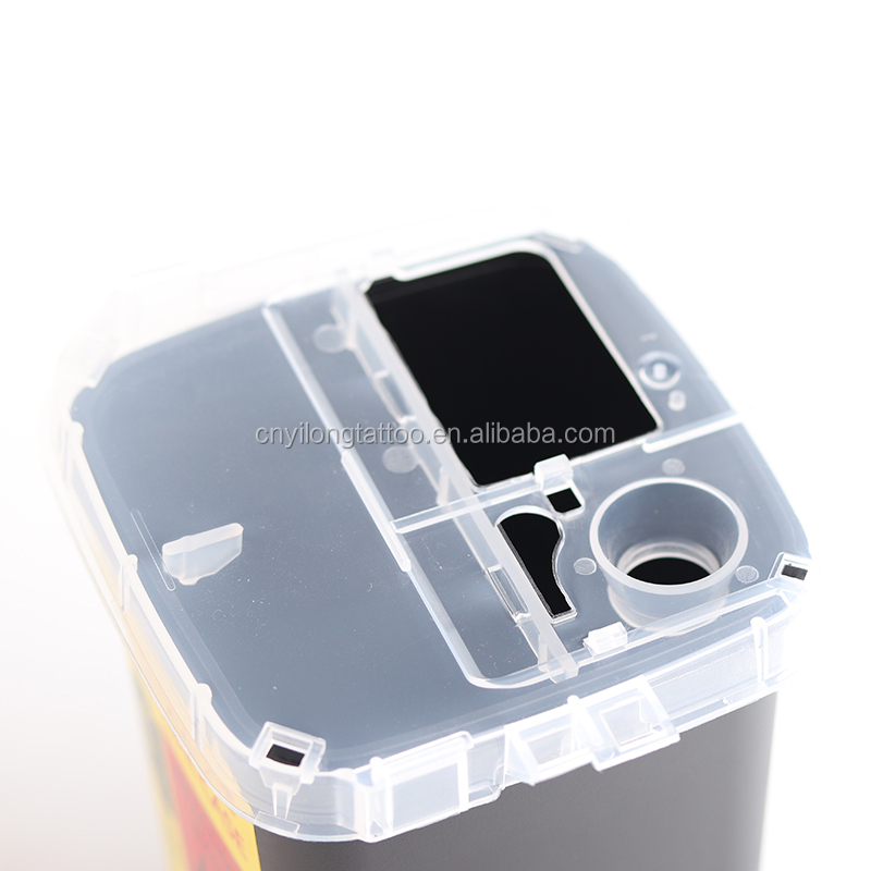 Recycling Waste Container Round Sharp Bin Safty Box 1L