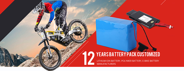36v 10ah 18650 Lithium ion Rechargeable Battery Pack for ebike