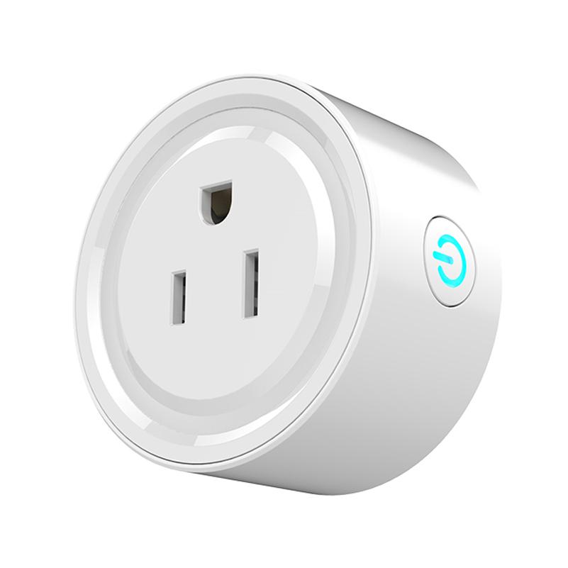 แบบไร้สาย Alexa Outlet Wifi Socket US Mini Smart Plug